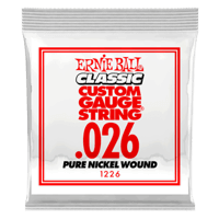 Paquet de 6 cordes .026 Classic Pure Nickel Wound Electric   Thumb