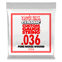 .036 Classic Pure Nickel Wound E-Gitarrensaite 6er Pack Thumb