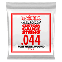 .044 Classic Pure Nickel Wound Electric Guitar Strings 6 Pack Thumb