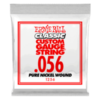 .056 Classic Pure Nickel Wound Electric Guitar Strings 6 Pack Thumb