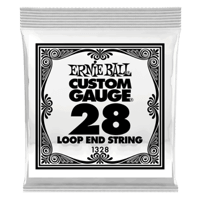 .028 Loop End Stainless Steel Wound Banjo- oder Mandolinensaite 6er Pack Thumb