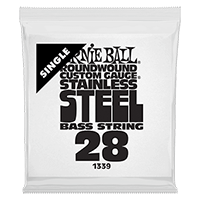 .028W Stainless Steel Electric Bass String Single Thumb