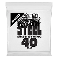 .040 Stainless Steel Electric Bass String Single Thumb
