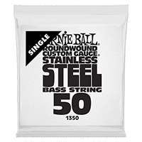 .050 Stainless Steel Electric Bass String Single Thumb