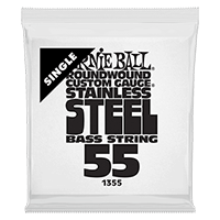 .055 Stainless Steel Electric Bass String Single Thumb