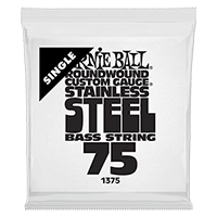.075 Stainless Steel Electric Bass String Single Thumb