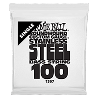 .100 Stainless Steel Electric Bass String Single Thumb