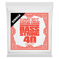 .040 Nickel Wound Electric Bass String Single Thumb