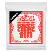 .110 Nickel Wound Electric Bass String Single Thumb