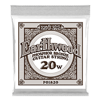 .020 Earthwood Phosphor Bronze Akustik-Gitarrensaite 6er Pack Thumb
