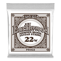 .022 Earthwood Phosphor Bronze Akustik-Gitarrensaite 6er Pack Thumb