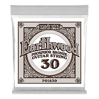 .030 Earthwood Phosphor Bronze Akustik-Gitarrensaite 6er Pack Thumb