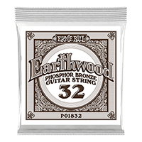 .032 Earthwood Phosphor Bronze Akustik-Gitarrensaite 6er Pack Thumb
