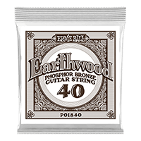 .040 Earthwood Phosphor Bronze Akustik-Gitarrensaite 6er Pack Thumb