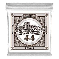 .044 Earthwood Phosphor Bronze Acoustic Guitar Strings 6 Pack Thumb