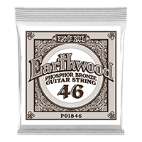 .046 Earthwood Phosphor Bronze Akustik-Gitarrensaite 6er Pack Thumb