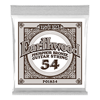 .054 Earthwood Phosphor Bronze Akustik-Gitarrensaite 6er Pack Thumb