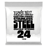 .024 Stainless Steel Wound Electric Guitar Strings 6 Pack Thumb