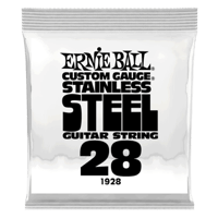 .028 Stainless Steel Wound Electric Guitar Strings 6 Pack Thumb