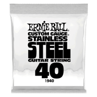 .040 Stainless Steel Wound Electric Guitar Strings 6 Pack Thumb