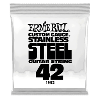 .042 Stainless Steel Wound Electric Guitar Strings 6 Pack Thumb