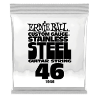 .046 Stainless Steel Wound Electric Guitar Strings 6 Pack Thumb