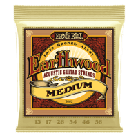 Earthwood Medium 80/20 Bronze Acoustic Guitar Strings Thumb