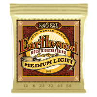 Earthwood Medium Light 80/20 Bronze Acoustic Guitar Strings Thumb