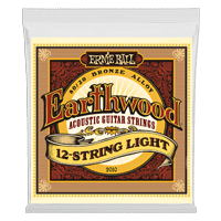 Earthwood Light 12-String 80/20 Bronze Acoustic Guitar Strings Thumb