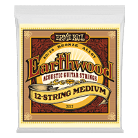 Earthwood Medium 12-String 80/20 Bronze Acoustic Guitar Strings Thumb