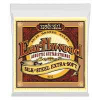 Earthwood Silk & Steel Extra Soft 80/20 Bronze Acoustic Guitar Strings Thumb