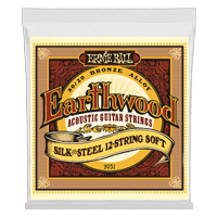 Earthwood Silk & Steel Soft 12-String 80/20 Bronze Acoustic Guitar Strings - 9-46 Gauge Thumb