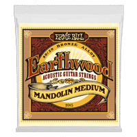 Earthwood Mandolin Medium Loop End 80/20 Bronze Acoustic Guitar Strings Thumb
