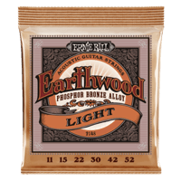 Earthwood Light Phosphor Bronze Acoustic Guitar Strings Thumb