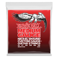 Medium Nickel Wound w/ wound G Electric Guitar Strings Thumb