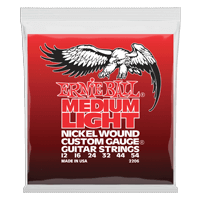 Medium Light Nickel Wound w/ wound G Electric Guitar Strings Thumb