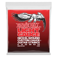 Light Electric Wound w/ wound G Electric Guitar Strings Thumb