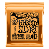 Hybrid Slinky Nickel Wound Electric Guitar Strings - 9-46 Gauge Thumb