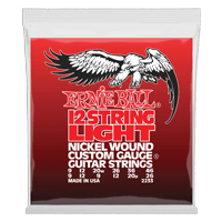 Light 12-String Nickel Wound Electric Guitar Strings - 9-46 Gauge Thumb