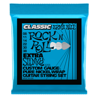Extra Slinky Classic Rock n Roll Pure Nickel Wrap Guitarra Eléctrica Thumb