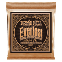 Everlast Light Coated Phosphor Bronze Acoustic Guitar Strings Thumb