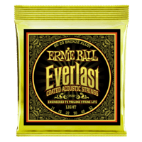 Everlast Light Coated 80/20 Bronze Acoustic Guitar Strings Thumb