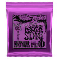 Power Slinky 7-String Nickel Wound Electric Guitar Strings Thumb