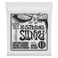 Slinky 8-String Nickel Wound Electric Guitar Strings - 10-74 Gauge Thumb