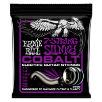 Power Slinky 7-String Cobalt  Electric Guitar Strings Thumb