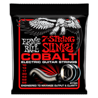 Skinny Top Heavy Bottom Slinky 7-String Cobalt Electric Guitar Strings Thumb