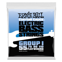 Flatwound Group I Electric Bass Strings Thumb