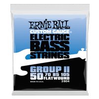 Flatwound Group II Electric Bass Strings Thumb