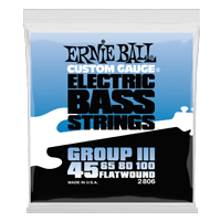 Flatwound Group III Electric Bass Strings Thumb