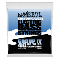 Flatwound Group IV Electric Bass Strings Thumb